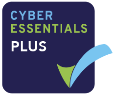 Cyber Essentials Plus Logo Keyline