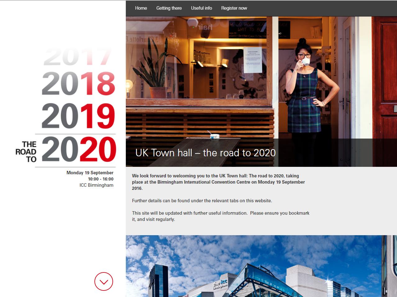 HSBC Registration Site